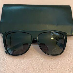 Black YSL sunglasses